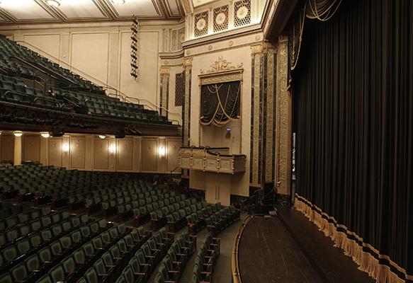 interior photo of Victoria Theatre