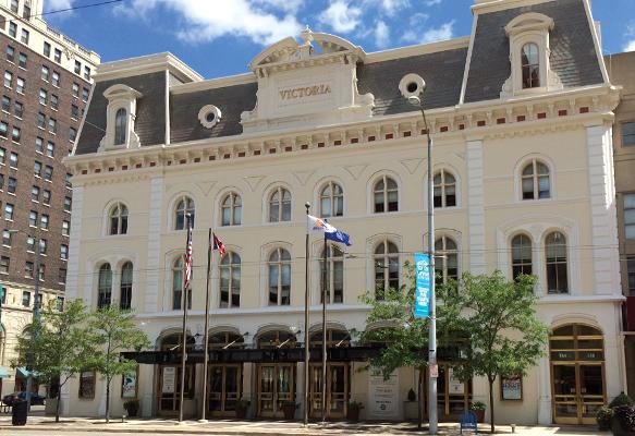 Exterior image of Victoria Theatre