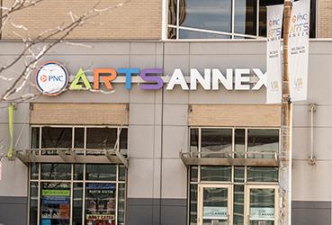 PNC Arts Annex exterior