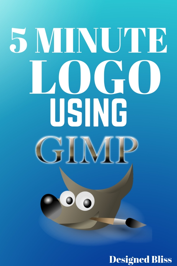 Logos are essential to any business; they are on blog and website headers, business cards, social media profiles and printed media. Without a logo, it\'s kind of like no storefront sign on a physical store.  You need a logo, a cool one. Plus it would be nice if it was an affordable logo. Why not make a 5-minute logo using GIMP?