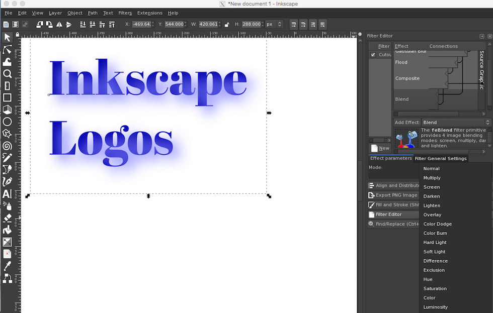 5 Minute Logo Using Inkscape