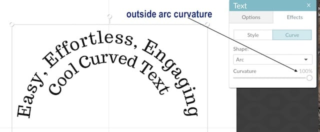 arc text creation example