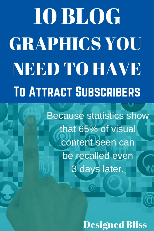 It can be a bit of a challenge for a new blogger to find, make or create those initial graphics needed to build a professional looking blog. Because when you first start you may or may not realize all the graphics you might want or need.Here\'s the ten minimum you should have