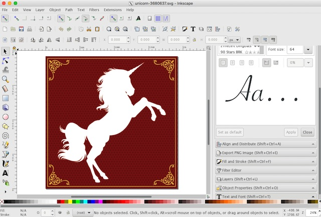 Converting Svg to Png File Using Inkscape