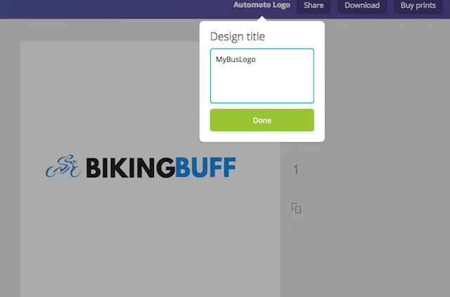 save logo design canva