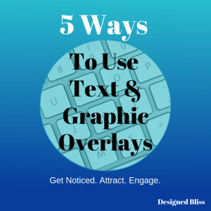 text image overlays