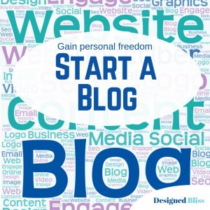Start A Blog - Gain Personal Freedom