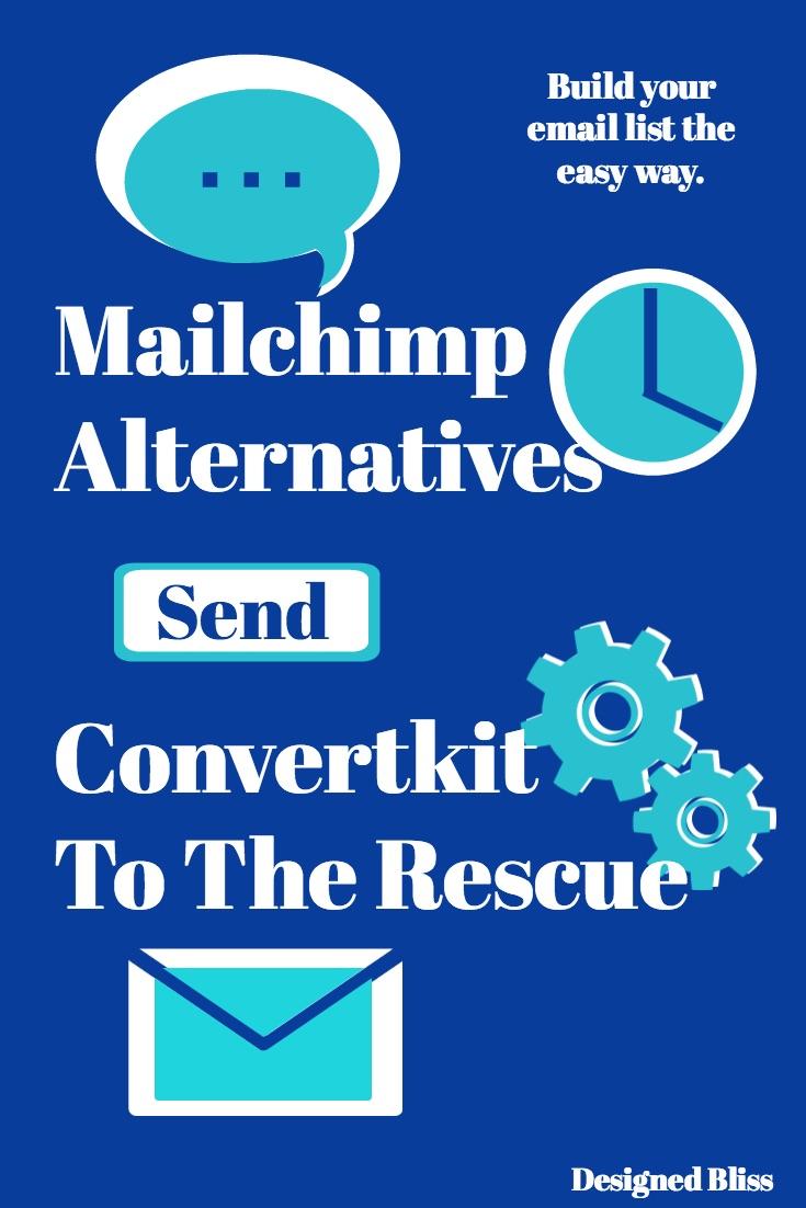 mailchimp versus convertkit- email service provider review