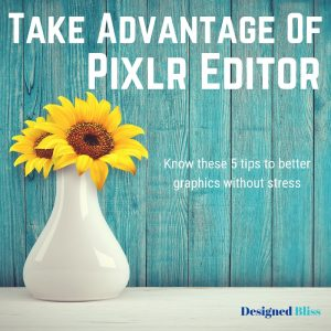 Take Advantage Of Pixlr Editor - Read These 5 Tips
