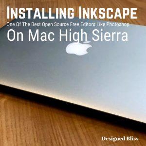 Install Inkscape Online On MacBook