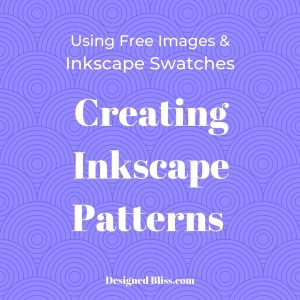 Inkscape Pattern Fill Tutorial