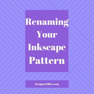 rename inkscape pattern