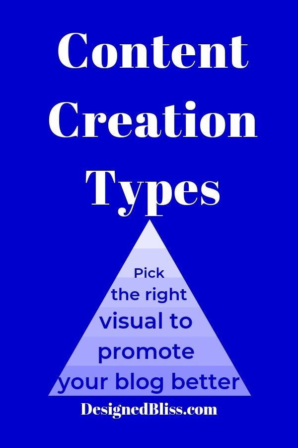 content creation types promote better