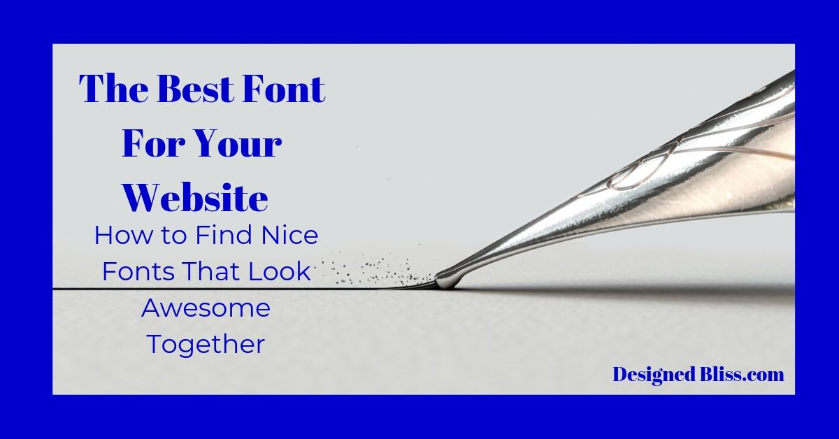 Best Font For Your Website 1