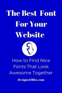 Good Fonts For Websites