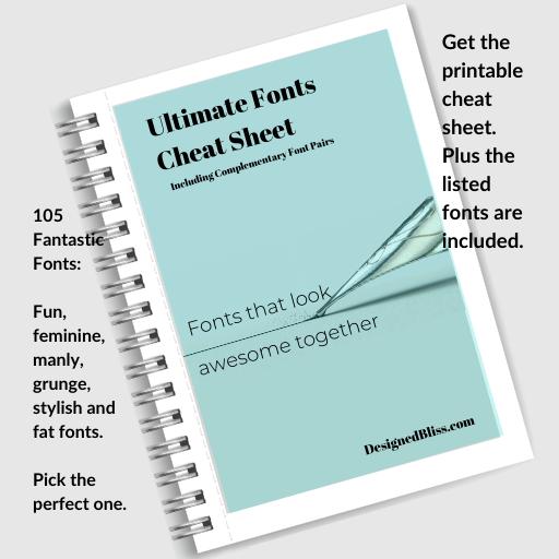 Utlimate Fonts Find Good Fonts