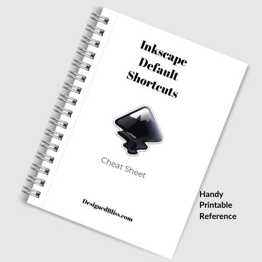Inkscape Shortcut Cheatsheet