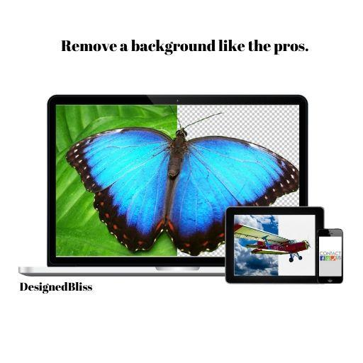 Make Background Transparent Easily