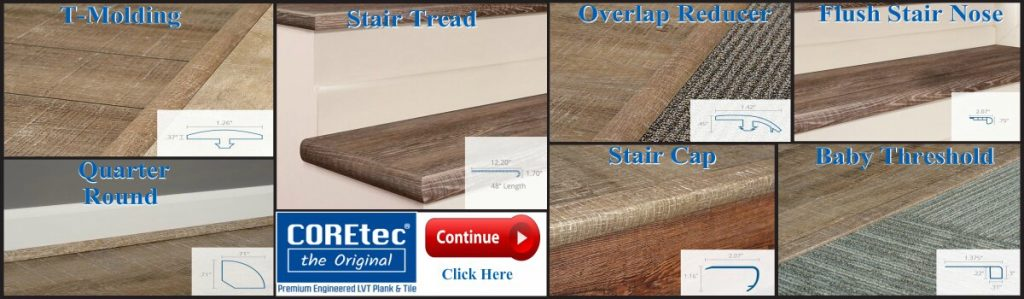 COREtec Flooring Transitions