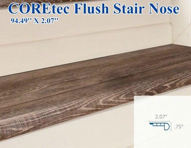 COREtec Flush Stair Nose