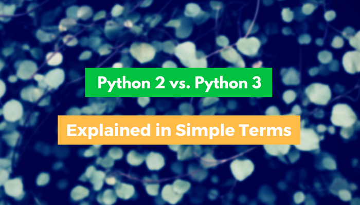 Python 2 vs. Python 3 Explained in Simple Terms