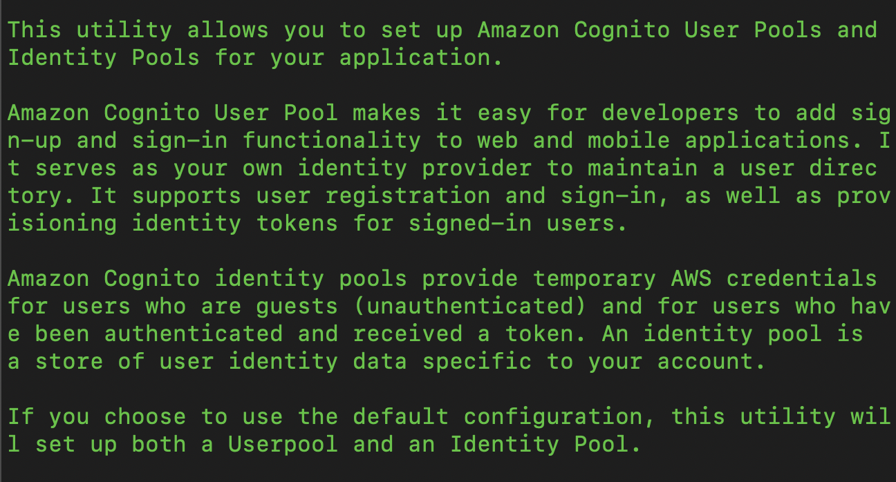 Adding Authentication in AWS with Amplify