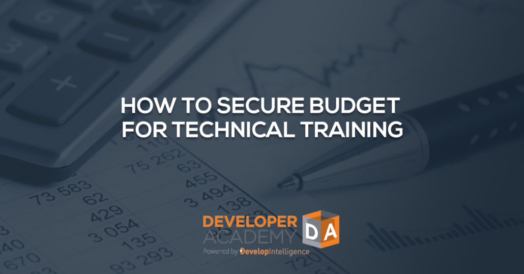 How to Secure Budget for Technical Training