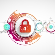 This illustration of a lock symbolizes the importance of prioritizing cybersecurity.