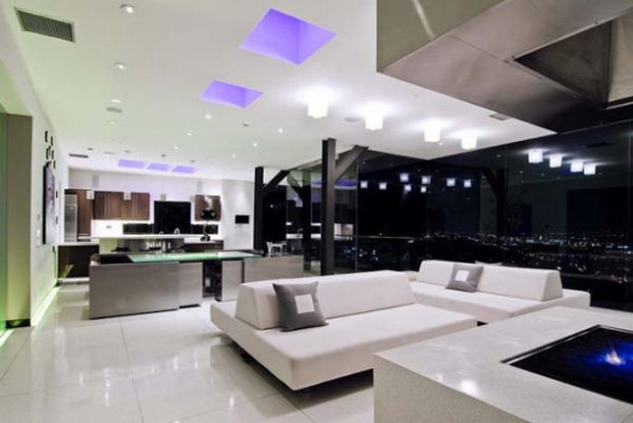 Awesome Ultra Modern Interior Design Ideas With White Sofa For