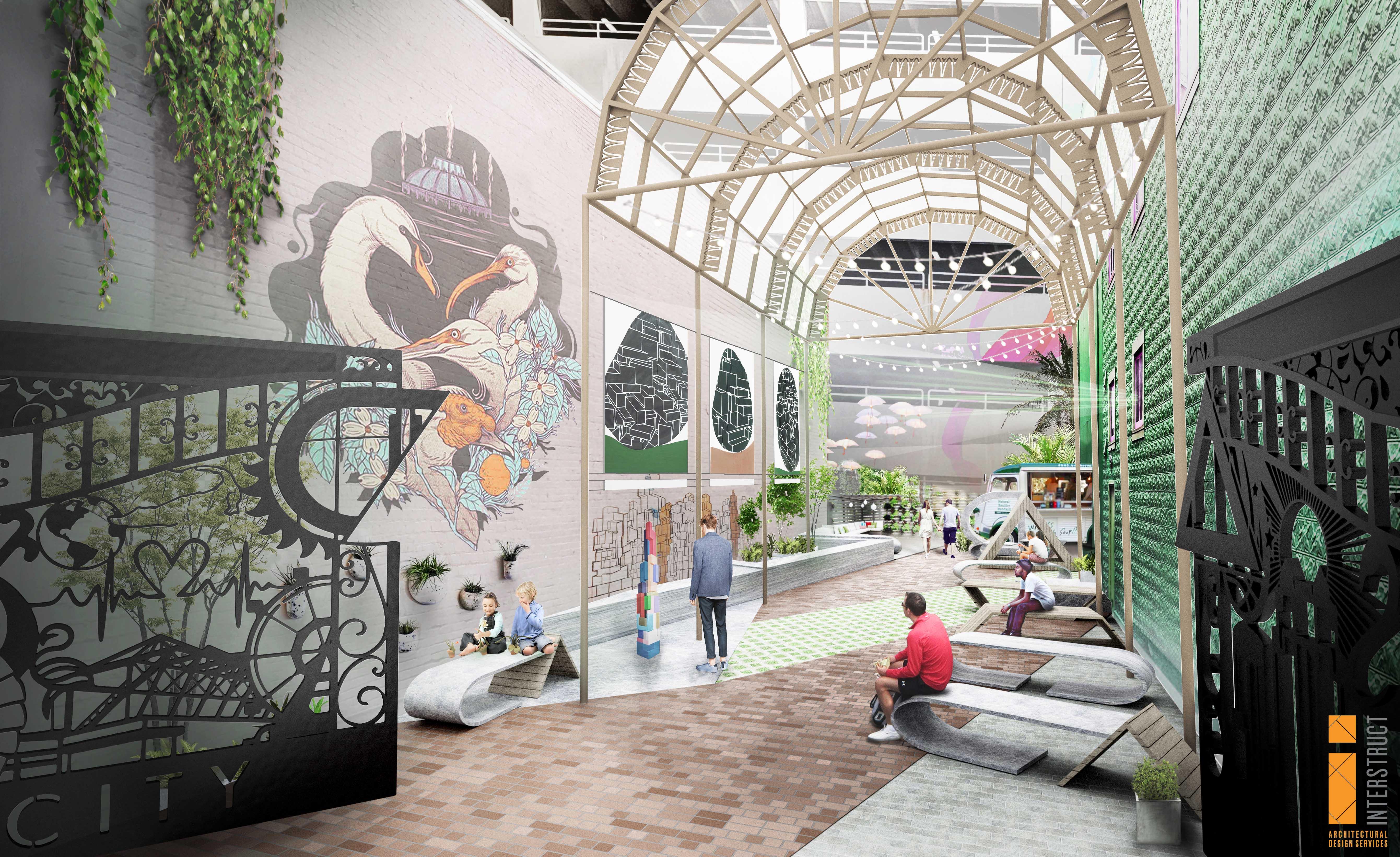 CityArts Courtyard - Interstruct 20200108