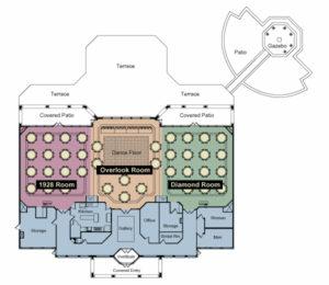 Drees Pavilion Floorplan