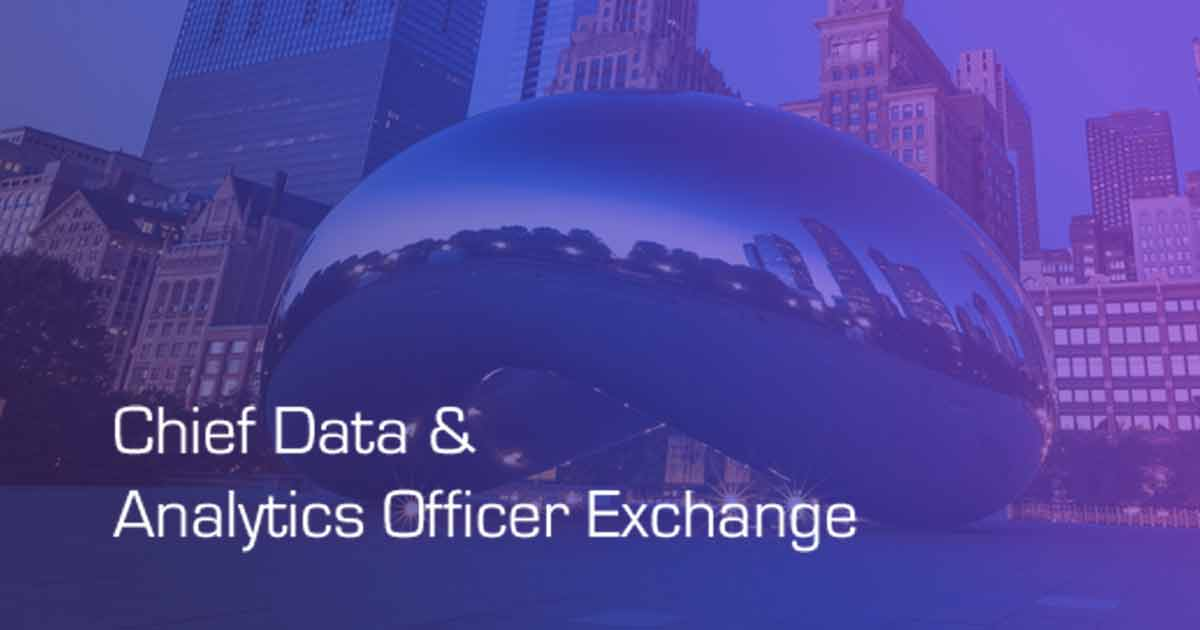 Datometry at Chief Data Analytics Officer Exchange