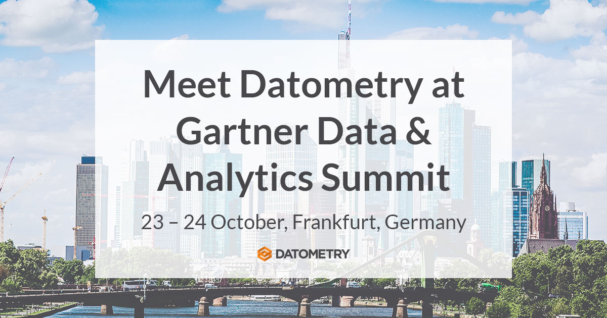 Datometry at Gartner Data Analytics Summit