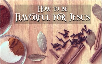 How To Be Flavorful For Jesus