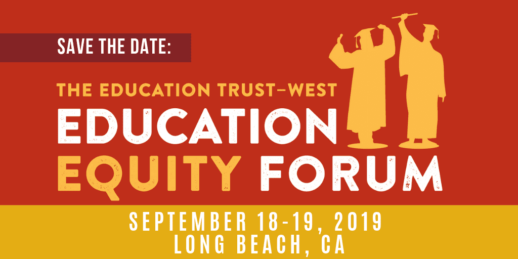 The Next Educational Equity >> The Education Trust West