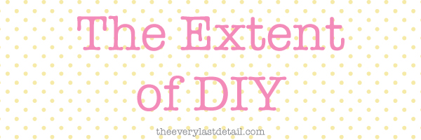 {Thursday Tips} The Extent of DIY via TheELD.com