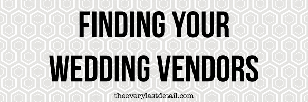 {Thursday Tips} Finding Your Wedding Vendors via TheELD.com
