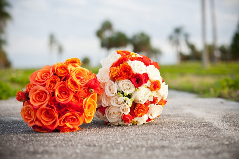 Elegant Orange & Blue Wedding - Every Last Detail