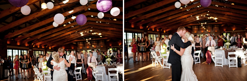 Purple European Inspired DIY Wedding via TheELD.com