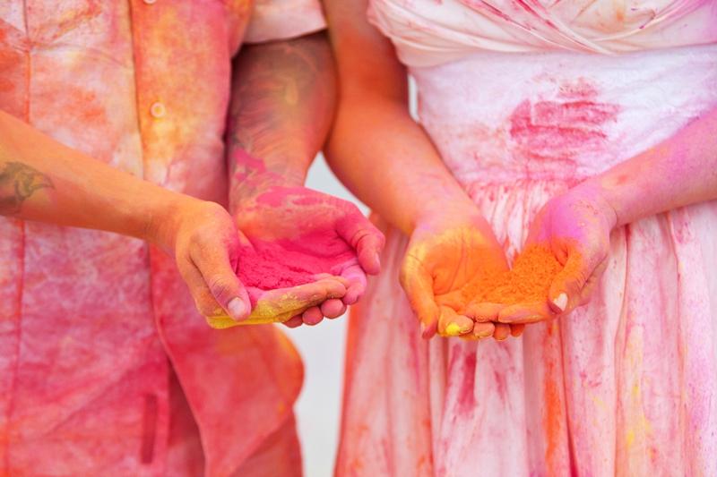 Paint Powder Trash The Dress Session! via TheELD.com