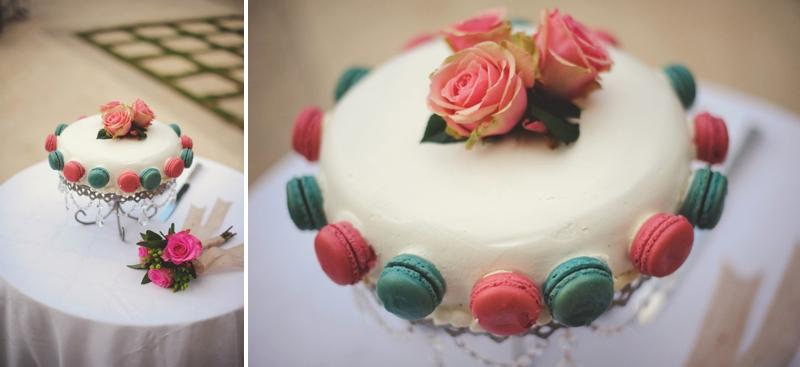 Pink & Navy Eclectic Garden Wedding via TheELD.com