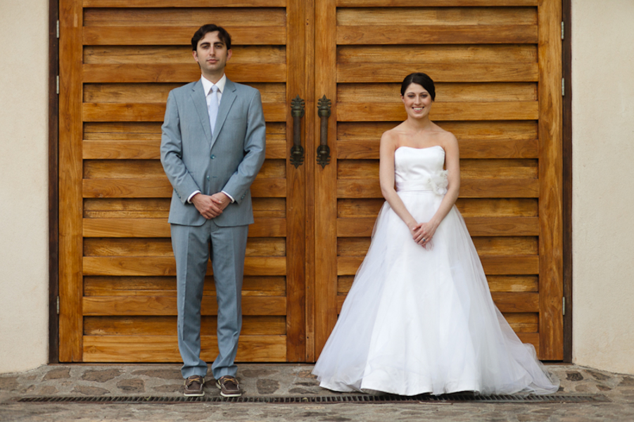 Bright & Modern Costa Rica Wedding via TheELD.com