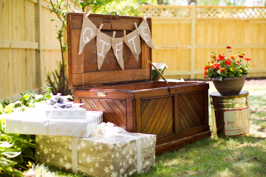 Intimate Backyard DIY Wedding via TheELD.com