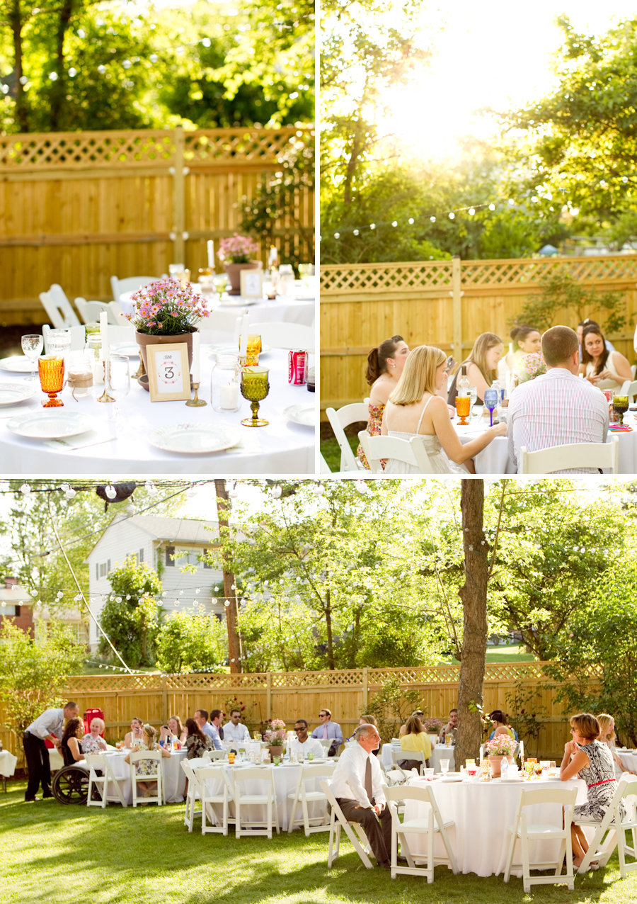 diy backyard wedding ideas intimate backyard diy wedding every last detail 27795