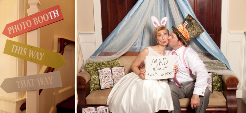 Whimsical Alice In Wonderland Wedding via TheELD.com