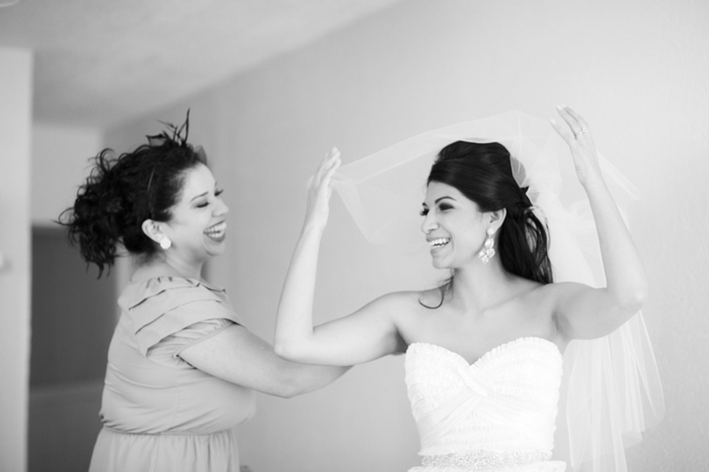 Simple Wedding Dresses Houston: Modern White Houston Wedding