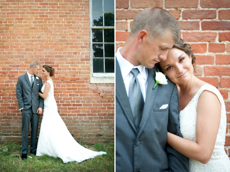 Pink Rustic DIY Maryland Wedding via TheELD.com