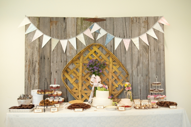 Detail To Love: Cake Backdrops! via TheELD.com