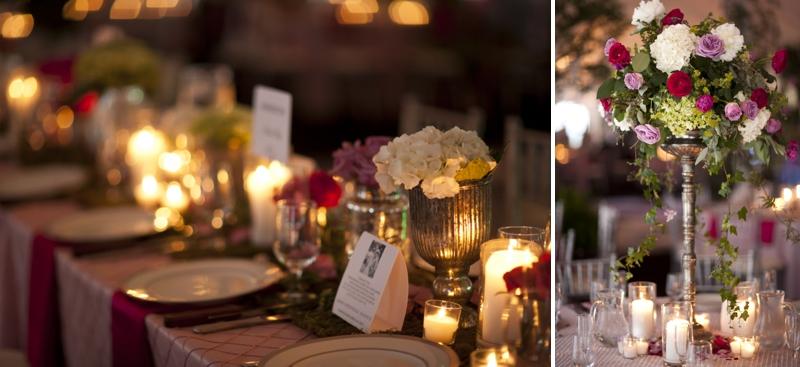Pink and Green Garden Inspired Wedding via TheELD.com
