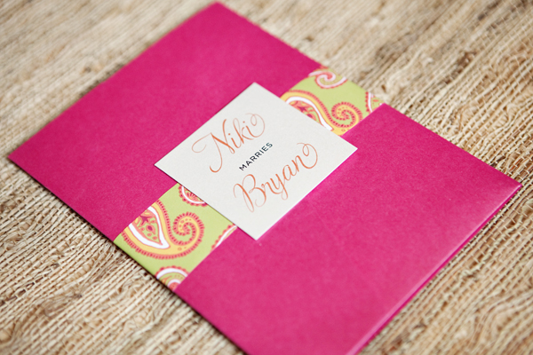 Stationery Week: Designing Your Wedding Invitations via TheELD.com